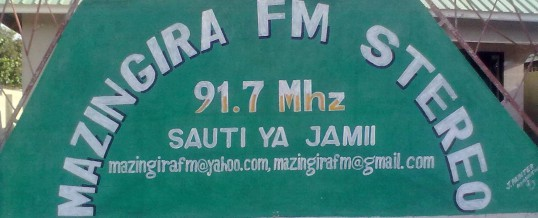 Mazingira FM – ON AIR!